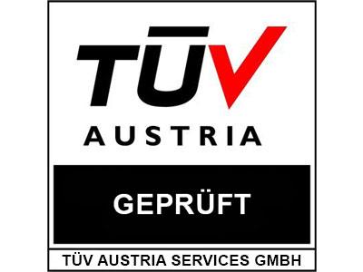 TÜV Austria geprüft
