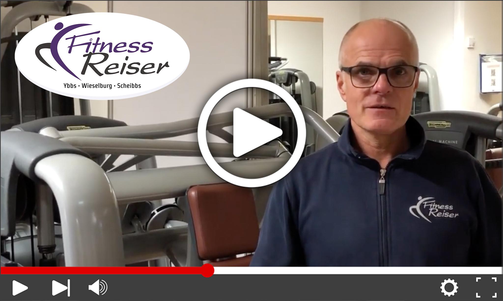 Videobotschaft von Franz Reiser - Fitness Reiser