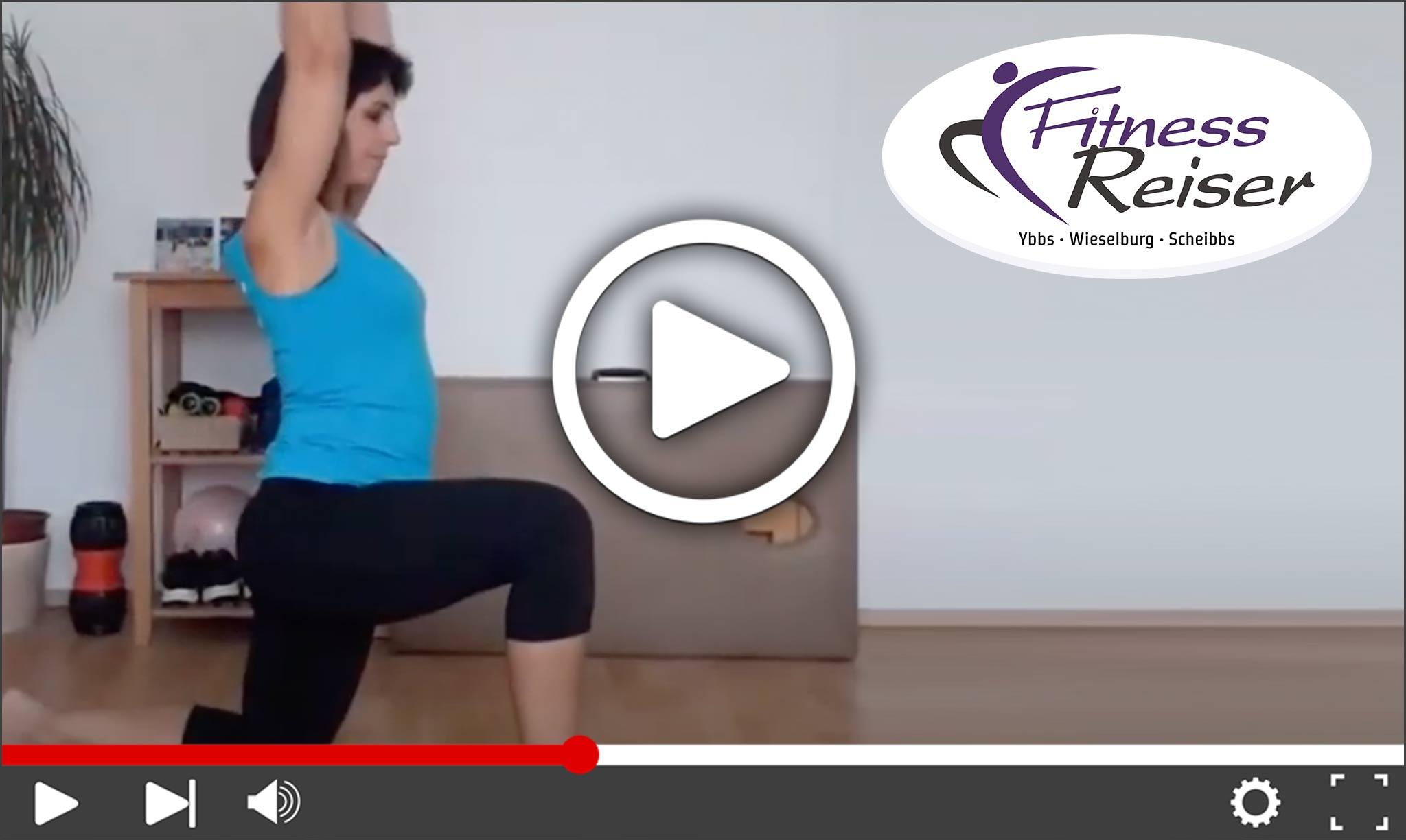 Video: Rücken- und Faszientraining mit Emilie - Fitness Reiser