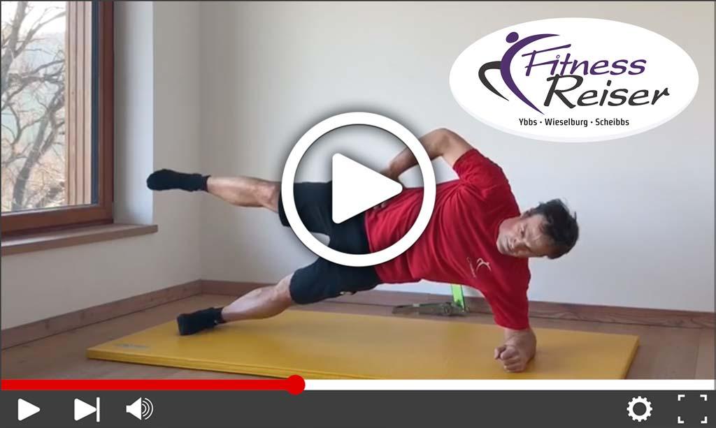 Video Rumpftraining für Fortgeschrittene mit Philipp - Fitness Reiser GmbH